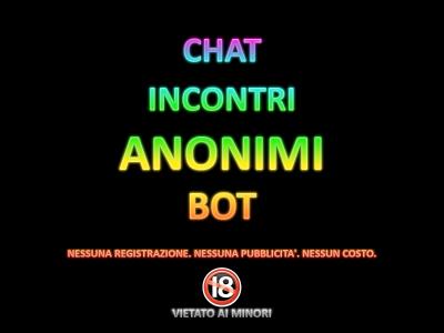 Chat Incontri Anonimi Bot