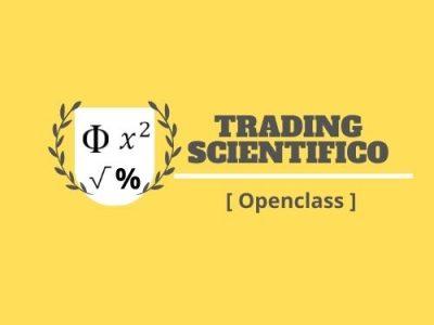 Trading Scientifico Open Class segnali di trading
